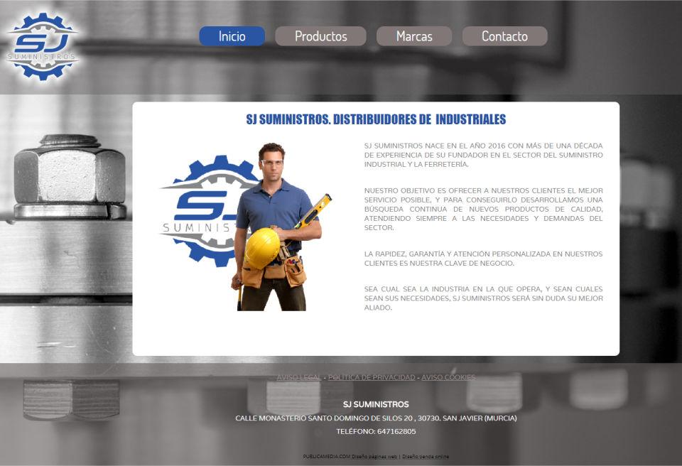 sjsuministros.es