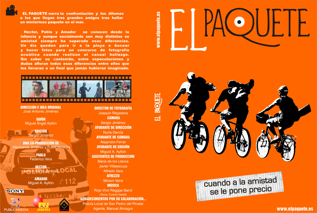 Diseño Carátula DVD